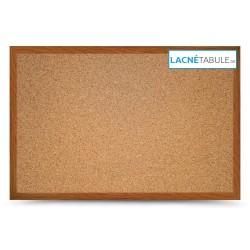 Korková tabuľa v dekoratívnom ráme - dubový MDF (30x40 cm)