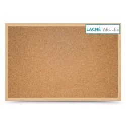 Korková tabuľa v drevenom ráme WOOD (30x40 cm)