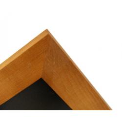 Kriedová tabuľa v drevenom ráme WOOD (50x40 cm)