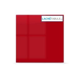 Sklenená magneticko suchostierateľná tabuľa - červená GLASS (45x45 cm)