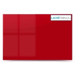 Sklenená magneticko suchostierateľná tabuľa - červená GLASS (60x40 cm)
