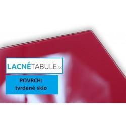 Sklenená magneticko suchostierateľná tabuľa - biela GLASS (45x45 cm)