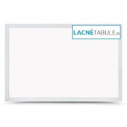 Magnetická tabuľa v dekoratívnom ráme - biely (60x40 cm)