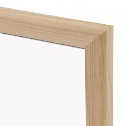 Magnetická tabuľa v drevenom ráme WOOD (30x40 cm)