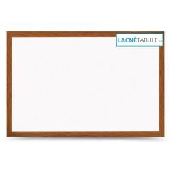 Magnetická tabuľa v dekoratívnom ráme - dubový MDF (30x40 cm)