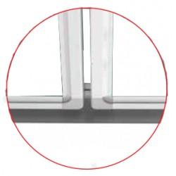 Magnetická školská tabuľa TRIPTYCH SCHOOL (240x90 cm) MTT129AL